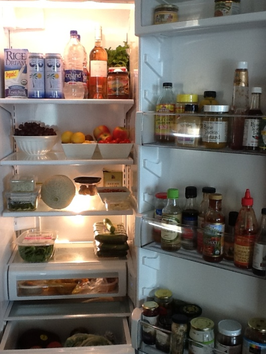 Refrigerator after Rehab